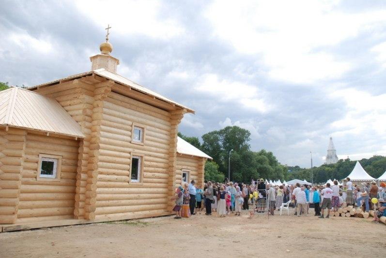 Возведение обыденного храма
